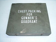US WW2 Wood Chest Gunner's Quadrant
