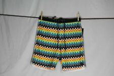 "O'NEILL ""HYPER FREAK"" SWIM/SURF/BOARD SHORTS MULTI-COLOR PLAID size  34"