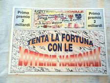 Cartolina LOTTERIA  NAZIONALE Film Festival Giffoni E Valle Piana 1996