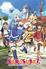 KONOSUBA Gods Gift to the World Anime CHARACTERS POSTER 24x36