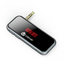 iClever IC-F50 Mini Universal In-Car Wireless FM Transmitter Stream Music Mp3
