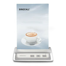 SINGCALL Wireless Calling Bell System Muliti-keys with 3 Options for Waiters
