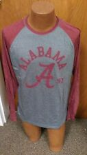 NCAA ALABAMA MENS LONG SLEEVE SHIRT BRAND NEW SIZE X-LARGE REALLY NICE COLLEGE