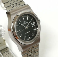Reloj mujer CONTINENTAL QUARTZ Original Vintage de acero inoxidable con fecha