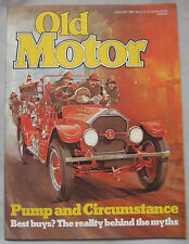 Old Motor magazine 01/1981 featuirng Triumph Dolmite Sprint, Humber Pullman