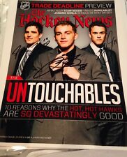 Stanley Cup Kane Toews Sharp Hockey News Signed Untouchables Blackhawks Champs