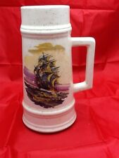 Spanish Galleon ship large stein mug for beer or ale