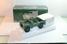 Land Rover SERIES 1 DARK GREEN model 150 168906 ebay new diecast 1:18 Minichamps