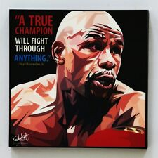 Floyd Mayweather, Jr. canvas quotes wall decals photo painting pop art poster