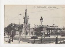 Tourcoing Place de la Republique & Eglise Saint Christophe France Postcard 819a