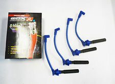 OBX Spark Plug Wires For 1995 To 2005 Dodge Neon 2.0L SOHC 4Cyl (Blue)