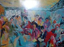 """Lot of 10 Leroy Neiman """"PARIS: SIDEWALK CAFE"""" Vintage Cafe plate signed poster"""