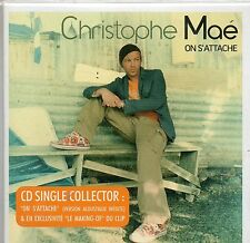 CD CARTONNE 3T CHRISTOPHE MAE    ON S'ATTACHE     DE 2007  NEUF NON SCELLE