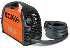 "Titan Shop Iron 30 Amp Heavy Duty Plasma Cutter Cut Up To 1/2"" Thick"