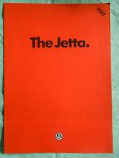 VW Jetta range brochure 1980