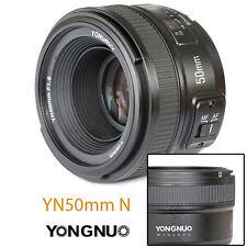 Yongnuo  YN50mm F/1.8 Obiettivo Auto Focus Lens per Nikon  D5200 D600 D5500 D70