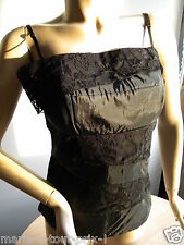 JULIE MODE MADE IN ITALY TOP BUSTIER POUR SOIREE FETE NOEL REVEILLON NOIR XL