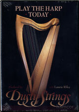 Play The Harp Today Laurie Riley Learn How to Tuition Tutor Method DVD SEALED
