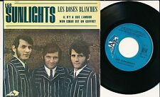 "LES SUNLIGHTS 45 TOURS EP 7"" FRANCE LES ROSES BLANCHES"