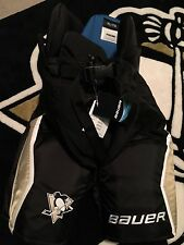 Pittsburgh PENGUINS Bauer Nexus XL Black Gold NEW Hockey Pants Pro Stock