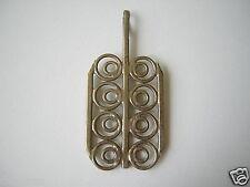 Alter 70er Jahre Modeschmuck Anhänger, Metall unbekannt 7,3 g/ 5,6 x 2,6 cm