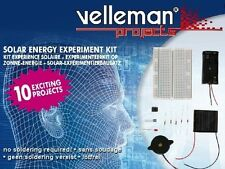 Velleman EDU02 SOLAR ENERGY 10 EXPERIMENTS KIT
