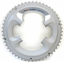 Shimano 105 FC-5800 Chainring 52T for 52-36T, Silver, 11 Spd, FC-6800 Usable