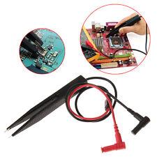 SMD Resistor Multimeter Capacitor Test Inductor Tester Clip Probe Tweezer 10 mm
