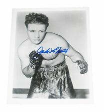 JAKE LAMOTTA HAND SIGNED AUTOGRAPHED 8X10 PHOTO WITH PSA/DNA LETTER COA