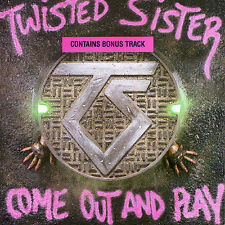 TWISTED SISTER--Come Out And Play--CD--Original Atlantic Pressing--Japan