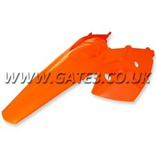 KTM 200SX SX 200 2003-2004 ORANGE REAR FENDER + SIDE PANELS MUDGUARD MOTOCROSS