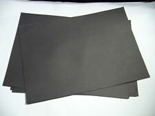 30 x Sheets of A3 Black Sugar Paper 100 gsm 297 x 420 mm 114923