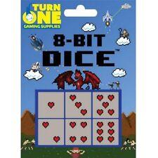 8-Bit Dice Blocks D6 : Hearts TOGDCE203