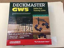 Deckmaster® GW5 175 Clips Pack DMGW5CP Hidden Deck Fastening System