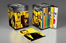 House MD Complete Series DVD Set M.D. Season 1 2 3 4 5 6 7 8 TV Show Collection