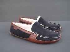 H.S. Trask & Co. Womens Leather Slippers Shoes, Size 8 M