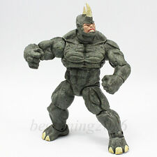"Marvel Legends The Amazing Spider-Man 9"" Super Thugs The Rhino Action Figure Toy"