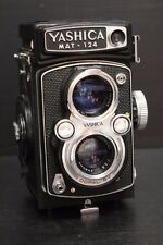 Vintage Yashica Mat-124 Film Camera Yashinon 80mm f3.5 from Japan # 9092539