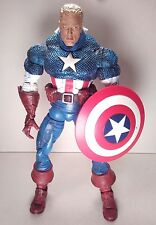 toybiz UNMASKED CAPTAIN AMERICA variant MARVEL LEGENDS ICONS 2006 12in. #2958