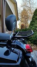 RAIL LUGGAGE BACKEST RACK 4 HARLEY ROAD KING TOURING STREET ELECTRA GLIDE ULTRA