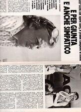 SP52 Clipping-Ritaglio 1978 Bjorn Borg E per giunta è anche simpatico
