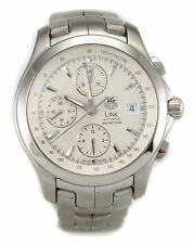Tag Heuer Link Series CJF2111 Automatic Chronograph Men's Watch XLNT Condition