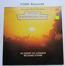 ABM 769 - MOZART - Symphonies No 33 & 40 STAMP Academy Of London - Ex LP Record