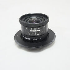 Computar 3.6mm f 1.6 Ultra Wide Manual Focus C-Mount M4/3 Camera Lens GH3 GH4