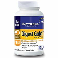 Digest Gold with ATPro - 120 Capsules by Enzymedica - Advanced Digestive Enzymes