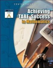Achieving TABE Success In Mathematics, Level A Workbook (Achieving TABE Success