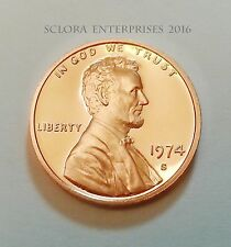 1974 S LINCOLN MEMORIAL CENT / PENNY *PROOF* **FREE SHIPPING**