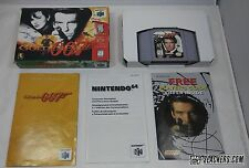 GoldenEye 007 JAMES BOND (Nintendo 64 1997) Complete In Box!! N64 orig issue