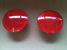 Ford Fiesta Mk6 / 6.5 Rear Bumper Reflectors - 2005   2008 Good Condition