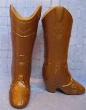 Barbie Fashion Style Fashionista~Hannah Montana Gold Cowboy Western Boots Rare